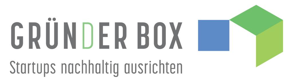 Logo GründerBox - Startups nachhaltig ausrichten