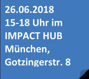 Informationen zum Gründerbox Design Thinking Workshop im Impact Hub München