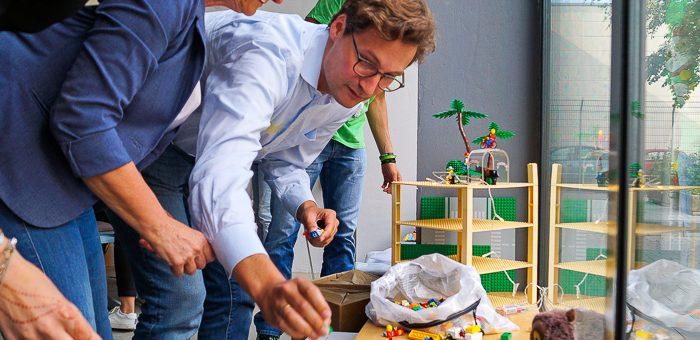 Design Thinking Workshop mit Gründern und etablierten Unternehmen – Startups nachhaltig ausrichten